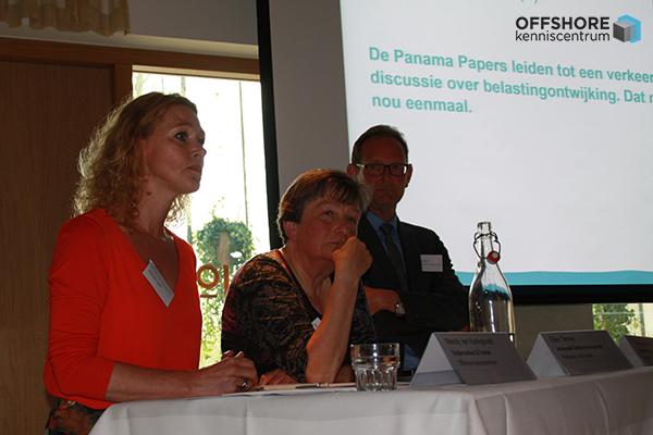 seminar over het onderzoeksrapport 'Behind the Scenes' van Transparency International (TI) Nederland